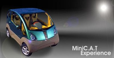 MINICAT Autos a aire comprimido MDI, un sueo de Julio Verne, disponible