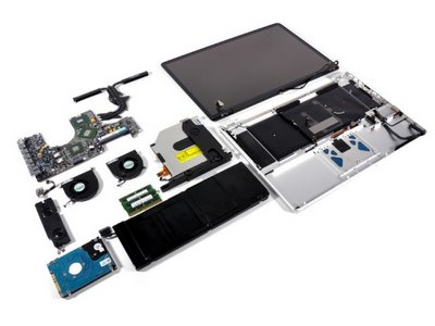 MacBookPro 17 2 MacBook Pro 17 unibody por dentro
