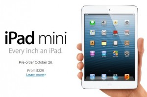 iPadMini Released 300x198 Apple: Llega el iPad Mini y se renuevan algunos productos